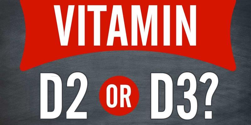 vitaminas d2 ir d3 kas tai