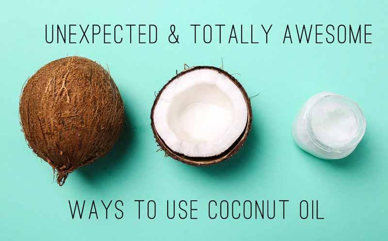 31 kokosu aliejaus panaudojimo budas