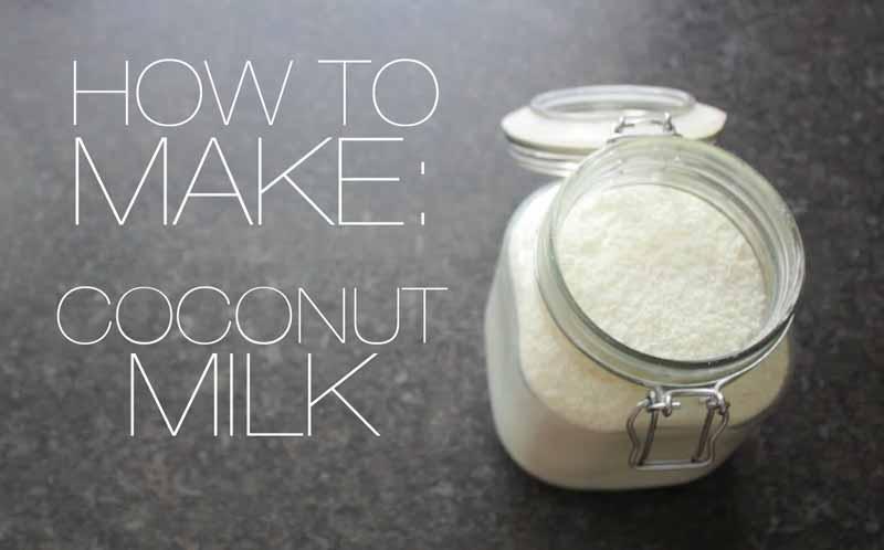 kokosu pieno gamyba
