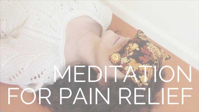 meditacija ir skausmas