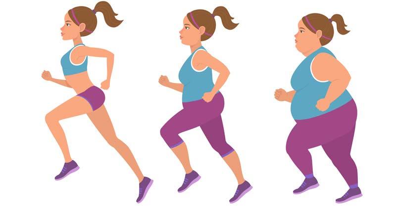 kaip numesti mėnesio svorį