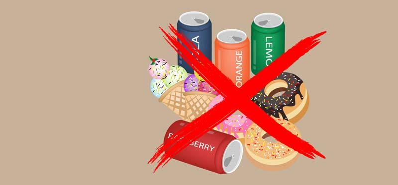 sumazink cukraus ir krakmolo suvartojima