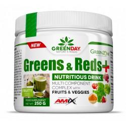 Amix GreenDay®  Greens & Reds+
