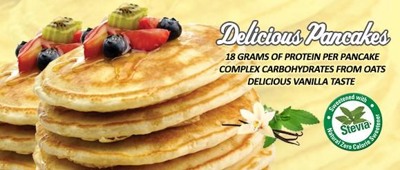 misinys baltyminiems blynams kepti xxl nutrition pancakes